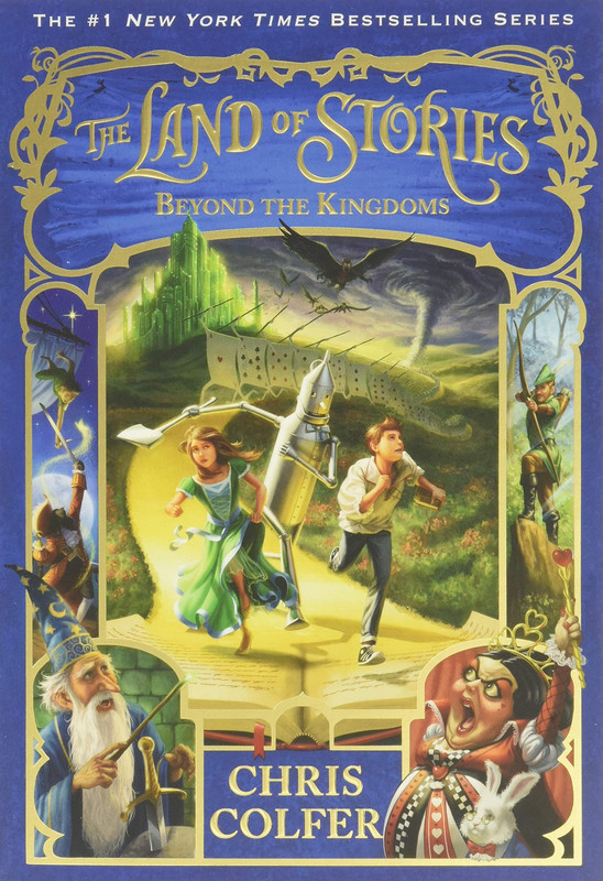 The Land Of Stories: Beyond The Kingdoms (The Land of Stories #4)