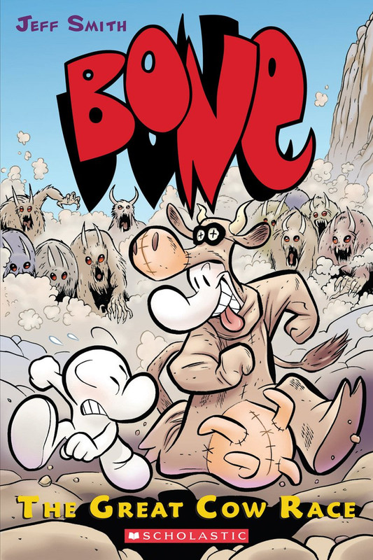The Great Cow Race (Bone #2)