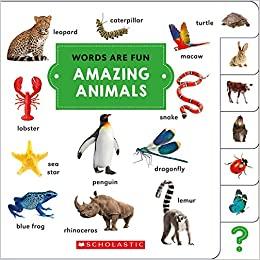 Amazing Animals (Words Are Fun)