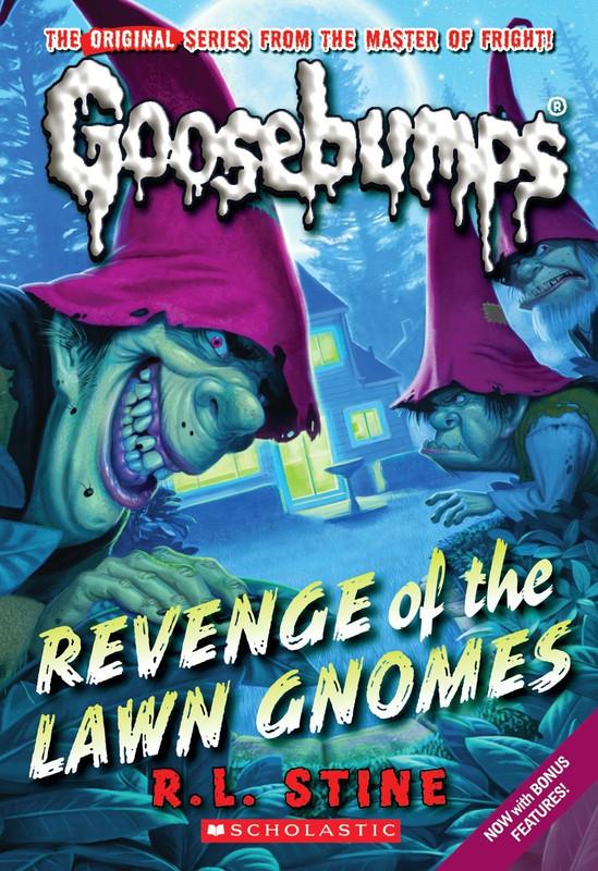 Revenge Of The Lawn Gnomes (Classic Goosebumps #19)