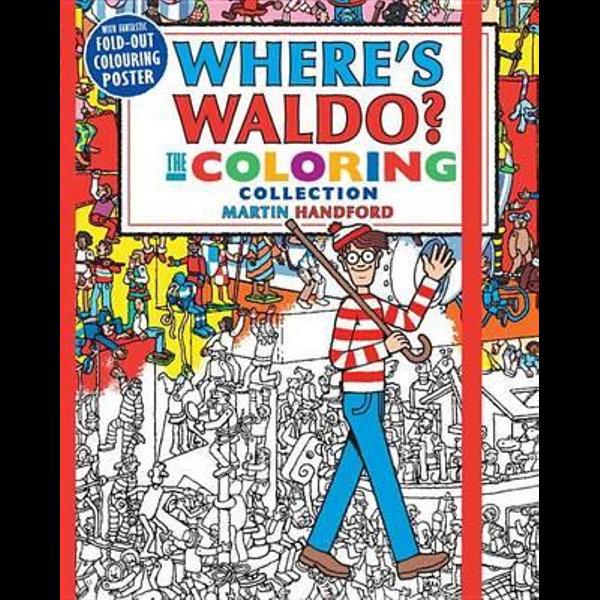 Where's Waldo? The Coloring Collection