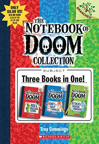The Notebook Of Doom Books 1-3: A Branches Box Set