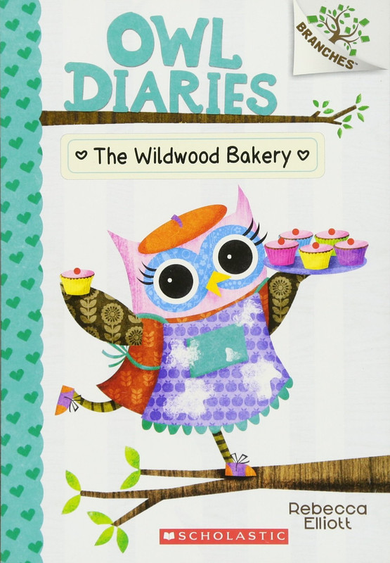 The Wildwood Bakery: A Branches Book (Owl Diaries #7)