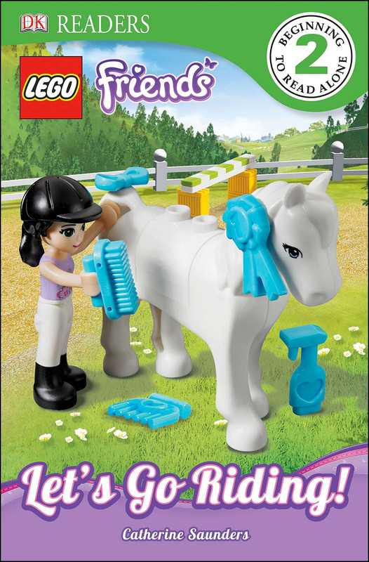 Dk Readers L2: Lego Friends: Let's Go Riding!