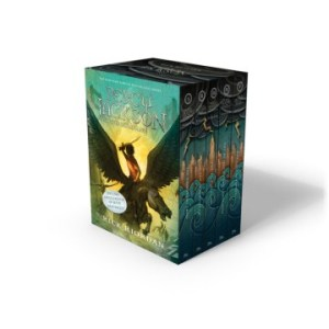 Percy Jackson And The Olympians 5 Book Paperback Boxed Set (New Covers W/Poster) (Percy Jackson and the Olympians #1-5)